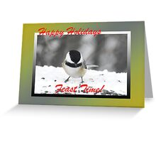 Time to Feast (holiday card) Greeting Card