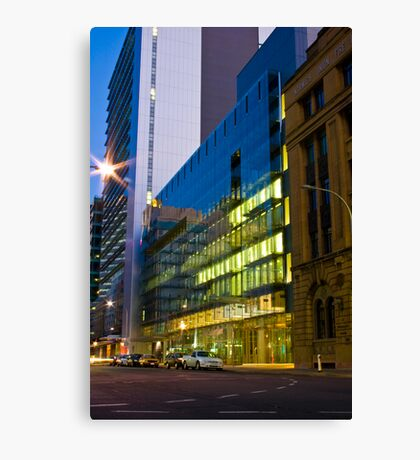 Advertiser Building Canvas Print