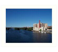 The Hudson River Art Print