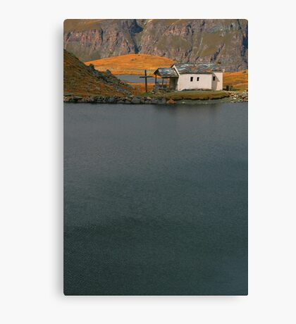 lakeside faith Canvas Print