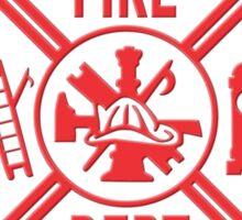 Volunteer Fire Dept - RED Sticker