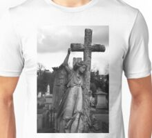 Angel with cross Brompton Cemetery Unisex T-Shirt