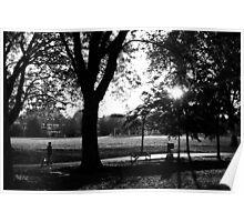 Putney Park - London Poster