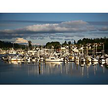 GIg Harbor Photographic Print