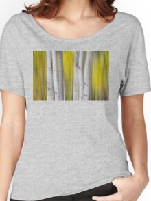 Colorful Autumn Aspen Tree Colonies Dreaming Women's Relaxed Fit T-Shirt