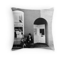 Barber Shop Watertown Tennessee Throw Pillow