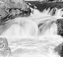 Glen Etive Waterfalls by PigleT
