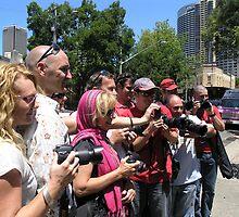 sydney redbubblers unite! by Gallery 26