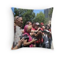 sydney redbubblers unite! Throw Pillow