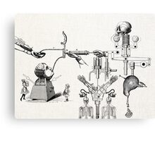 MÁQUINA DE APRENDIZAJE ABC ( The abc learning machine) Canvas Print