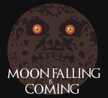 Moon Falling is Coming by pachanmask