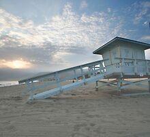 Malibu Beach Sunset by Philip Wong