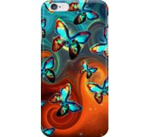 Space butterfly, butterflies, galactic, universe, planet, nature, earth,  iPhone Case/Skin