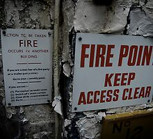 In case of fire...... by MissyVix