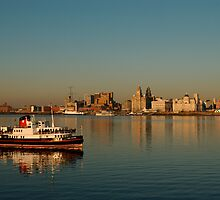 Liverpool Waterfront - UNESCO World Heritage City by JustPaula
