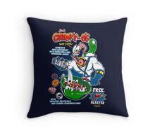 Groovy-Os Cereal v2 Throw Pillow