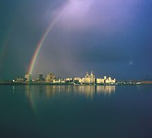 liverpool Waterfront (Rainbow City)- UNESCO World Heritage detination by JustPaula