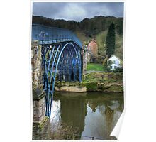 Ironbridge, England Poster