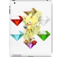 Super Sonic iPad Case/Skin