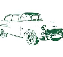 1955 Chevrolet Bel Air by surgedesigns