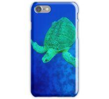sea green turtle iPhone Case/Skin