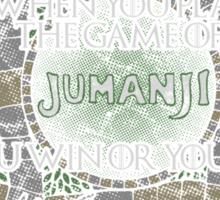 The Game of Jumanji Sticker