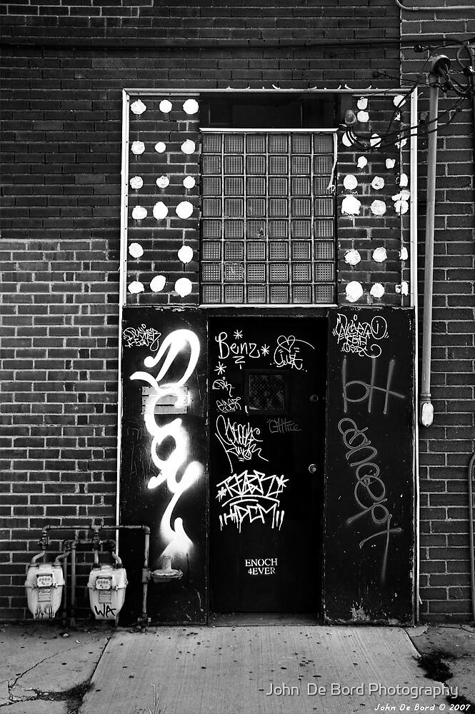 The Door by John  De Bord Photography