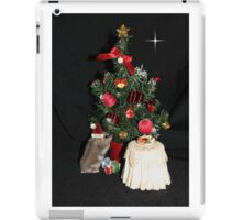 Skittles Decorating her Christmas Tree iPad Case/Skin