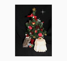 Skittles Decorating her Christmas Tree Unisex T-Shirt