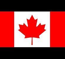 Canadian Flag, National Flag of Canada, Canada by TOM HILL - Designer