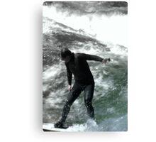 Spring Surfing Canvas Print
