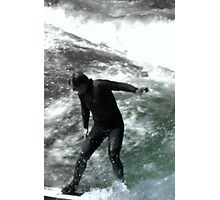 Spring Surfing Photographic Print