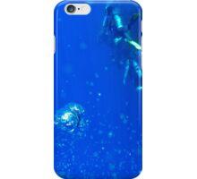 Underwater background  iPhone Case/Skin