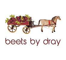 Beets by Horse Drawn Dray Photographic Print