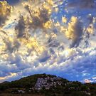 Clouds over Cala Llonga by Tom Gomez