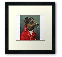 Ivan the Terrier Framed Print