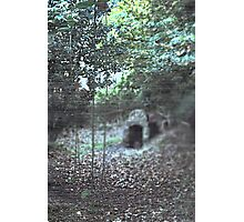 who lives in the well? Photographic Print