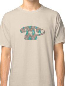 Argyle Vintage Rotary Telephone Classic T-Shirt