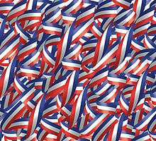 Ribbons in Red, White, and Blue by etienjones