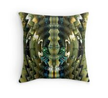 Bamboo Ripple Throw Pillow
