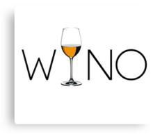 Wino Wine Lover Glass Canvas Print