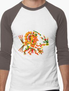 Tonatiuh 2 Men's Baseball ¾ T-Shirt