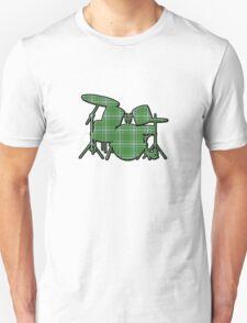 Plaid Drumset Unisex T-Shirt