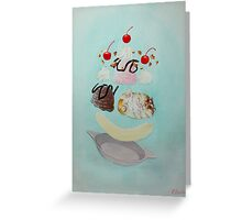 Hamster Sundae! Greeting Card