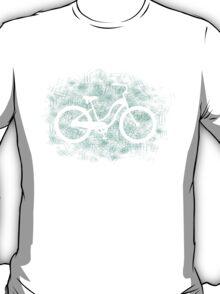 Beach Cruiser Bike Silhouette T-Shirt