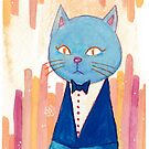 Mr Blue Cat by vivianz