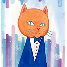 Mr Orange Cat by vivianz