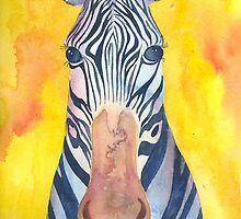 Brilliant Zebra by CCallahan