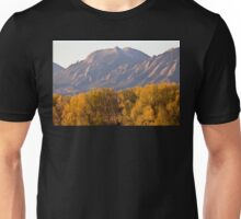 Golden Autumn Boulder Colorado Flatiron View Unisex T-Shirt