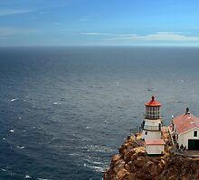 Point Reyes Lighthouse by dcruzin